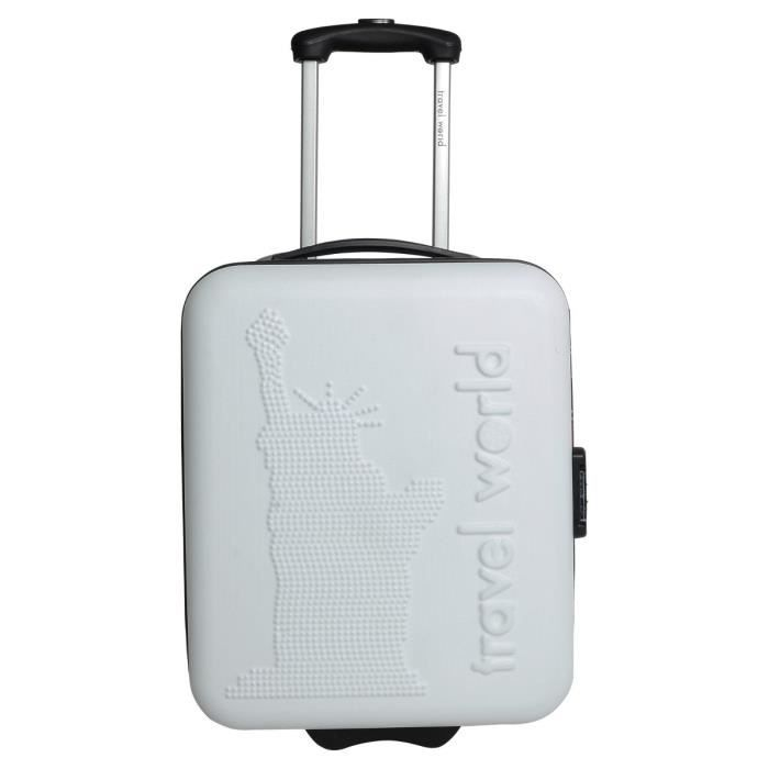 VALISE - BAGAGE TRAVEL WORLD Valise trolley LOW COST NEW YORK