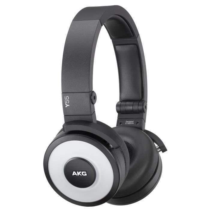 akg y55 blanc casque audio dj avec micro casque couteur audio avis et prix pas cher. Black Bedroom Furniture Sets. Home Design Ideas