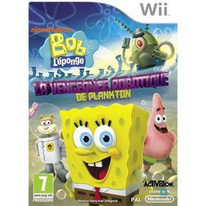 JEUX WII Bob l'Eponge:La Vengeance Robotique de Plankto Wii