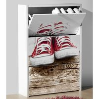 print meuble chaussures numbers 80cm