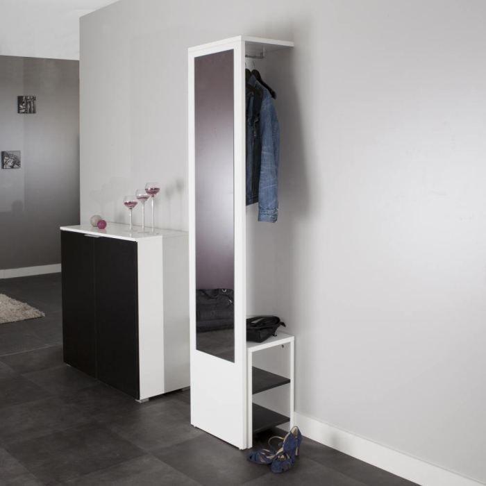 Shoes vestiaire banc chaussures achat vente meuble for Meuble chaussure avec banc