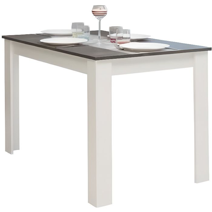 Pepper table manger 4 6 personnes style contemporain for Salle a manger 4 personnes