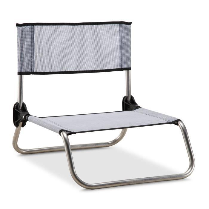 chaise basse pliante achat vente pas cher les soldes sur cdiscount cdiscount. Black Bedroom Furniture Sets. Home Design Ideas