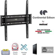 FIXATION - SUPPORT TV CONTINENTAL EDISON 400FX12 Support TV fixe 40-65""