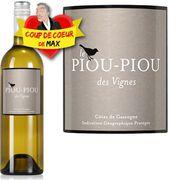 VIN BLANC Piou Piou des Vignes Doux Côtes de Gascogne 201...