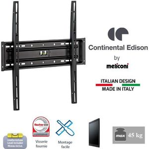 """FIXATION - SUPPORT TV CONTINENTAL EDISON 400FX12 Support TV fixe 40-65"""""""