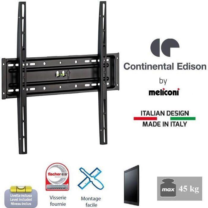 continental edison 400fx12 support tv fixe 40 65 quot fixation support tv avis et prix pas cher