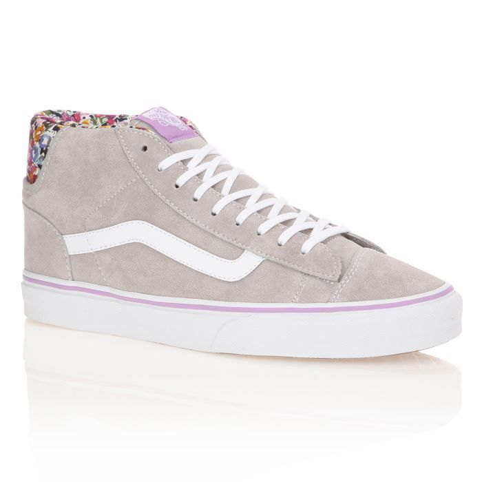 vans baskets mid skool 77 femme femme gris achat vente vans baskets mid skool 77 femme pas. Black Bedroom Furniture Sets. Home Design Ideas