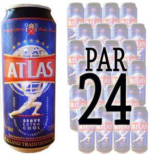 BIÈRE Pack Bière Atlas 50cl x24 7.2°