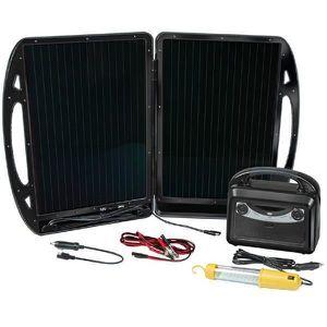 KIT PHOTOVOLTAIQUE BRENNENSTUHL Kit solaire 13W 12V/7Ah bâton fluo 36