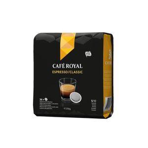 CAFÉ - CHICORÉE Lot de 6 Café Royal Espresso Dosettes Souples Comp
