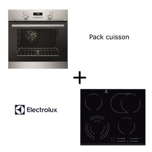 LOT APPAREIL CUISSON ELECTROLUX Pack cuisson : Four multifonction + Tab