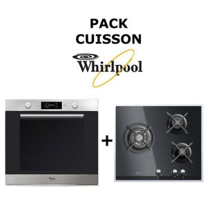 LOT APPAREIL CUISSON Pack Cuisson WHIRLPOOL : Four Catalyse 73L + Table