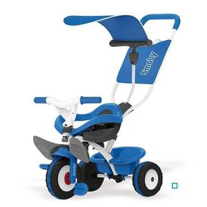 TRICYCLE SMOBY Tricycle Baby Balade Bleu