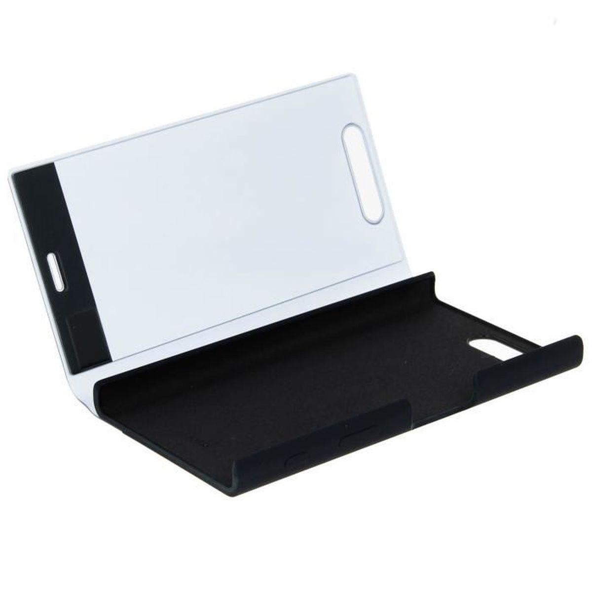 sony coque touch pour xperia x compact noir achat coque bumper pas cher avis et meilleur. Black Bedroom Furniture Sets. Home Design Ideas