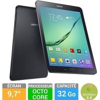 TABLETTE TACTILE Samsung Galaxy Tab S2 9,7'' 32 Go Noire SMT810NZKE