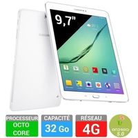 TABLETTE TACTILE Samsung Galaxy Tab S2 9,7'' 32 Go Blanche 4G SM-T8