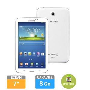 """TABLETTE TACTILE Samsung Galaxy Tab 3  7"""" 8Go Blanche"""