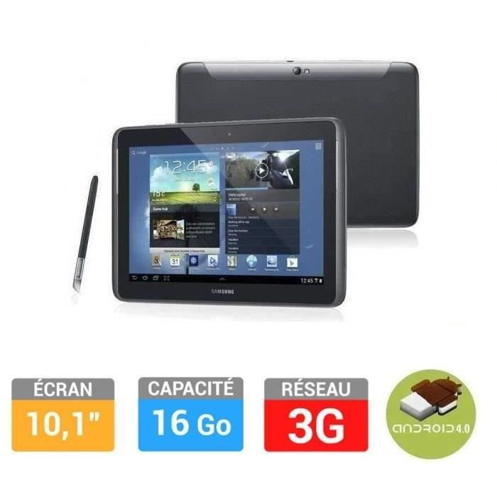 Samsung galaxy note 10 1 grise 3g 16 go prix pas cher for Sm t580nzkaxef
