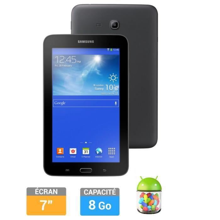 samsung galaxy tab 3 7 8go lite noir achat vente tablette tactile samsung galaxy tab 3 7. Black Bedroom Furniture Sets. Home Design Ideas