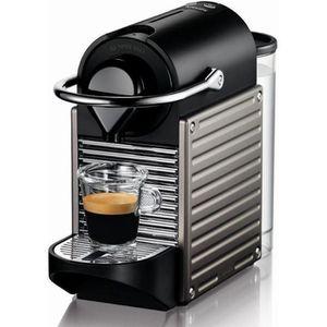 MACHINE À EXPRESSO KRUPS - Nespresso Pixie titane - YY1201FD