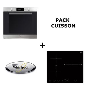 LOT APPAREIL CUISSON WHIRLPOOL  - Pack cuisson : Four multifonction pyr