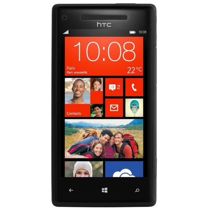 """SMARTPHONE HTC Windows Phone 8X Couleur Noir - Ecran 4.3"""""""