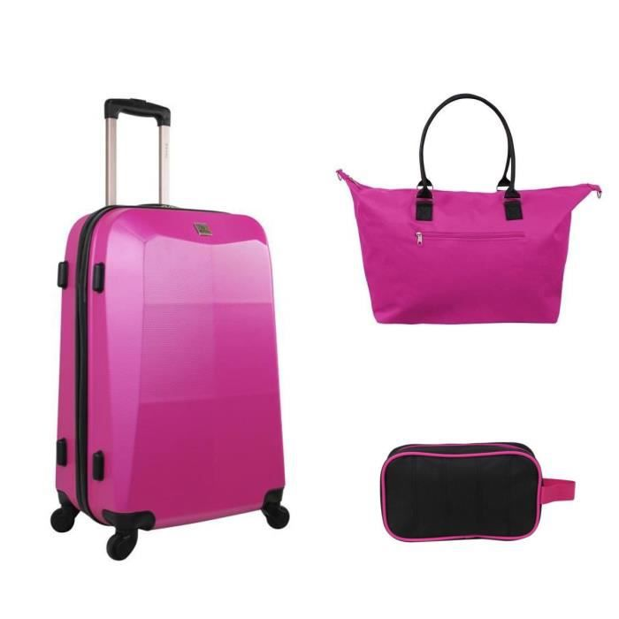 zifel valise cabine trolley 55 cm sac shopping trousse. Black Bedroom Furniture Sets. Home Design Ideas
