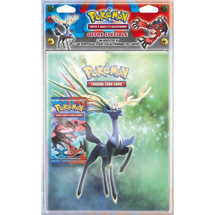 pokemon xy pack cahier range cartes 1 booster achat vente carte a collectionner cdiscount. Black Bedroom Furniture Sets. Home Design Ideas