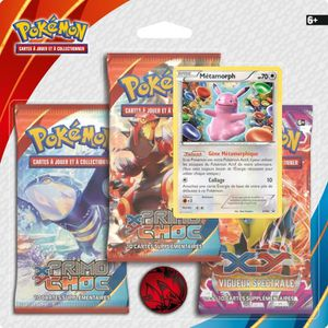 """CARTE A COLLECTIONNER POKEMON Pack 3 Boosters XY 5 """"Primo Choc"""""""