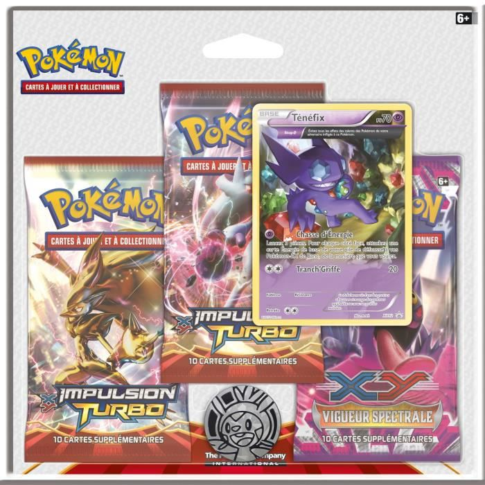 pokemon pack xy impulsion turbo achat vente carte a collectionner cdiscount. Black Bedroom Furniture Sets. Home Design Ideas