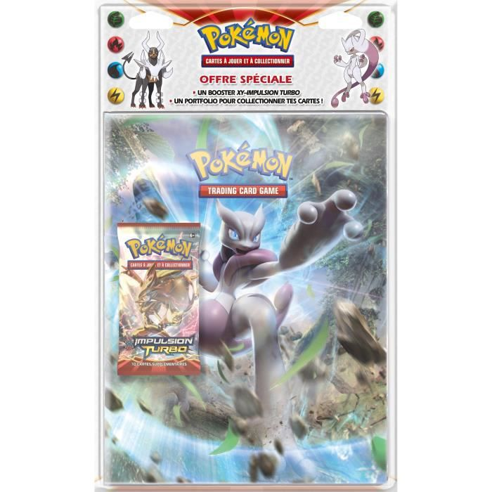 pokemon pack cahier range cartes a4 booster xy impulsion turbo achat vente carte a. Black Bedroom Furniture Sets. Home Design Ideas