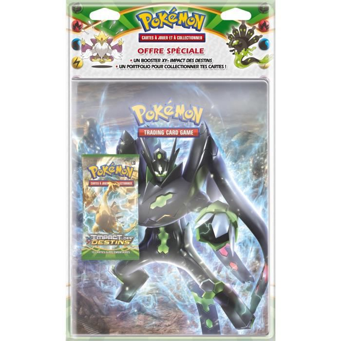 pokemon xy 10 pack cahier range cartes booster achat vente carte a collectionner cdiscount. Black Bedroom Furniture Sets. Home Design Ideas