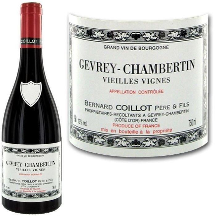 VIN ROUGE B. Coillot Gevrey Chambertin Vieilles Vignes 2010