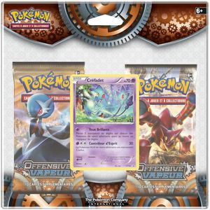 CARTE A COLLECTIONNER POKEMON Duo Pack Boosters XY11 - Offensive Vapeur