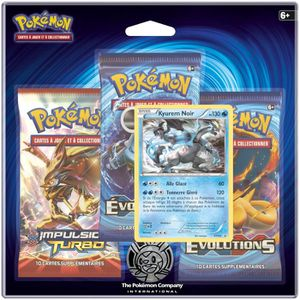 CARTE A COLLECTIONNER POKEMON Pack 3 Boosters XY 12