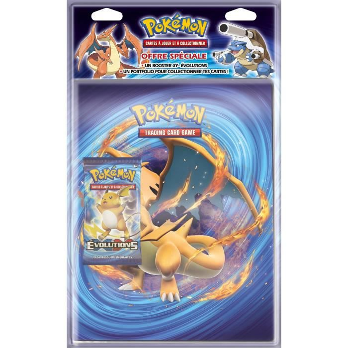 pokemon pack cahierrrange cartes booster xy12 achat. Black Bedroom Furniture Sets. Home Design Ideas