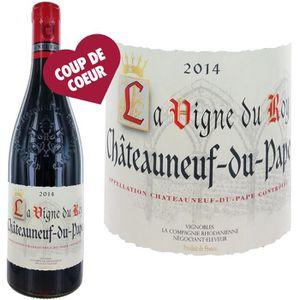 VIN ROUGE La Vigne du Roy Châteauneuf du Pape 2014 - Vin Rou