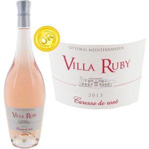 VIN ROSÉ Villa Ruby IGP Méditerranée 2015 -  Vin rosé doux