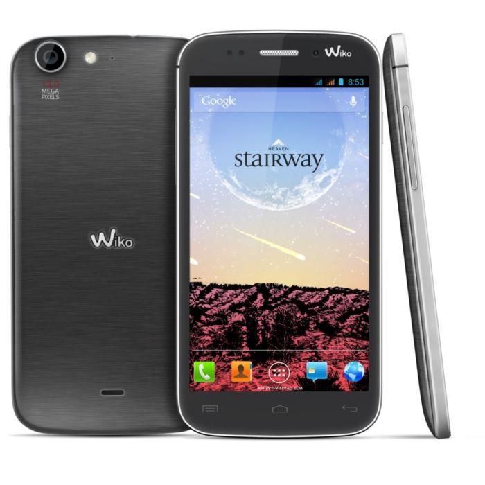 wiko stairway gris achat smartphone pas cher avis et