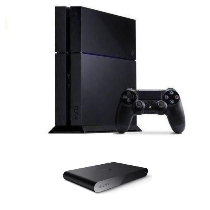 ps4 500 go noire playstation tv achat vente console ps4 nouveaut ps4 500 go playstation. Black Bedroom Furniture Sets. Home Design Ideas