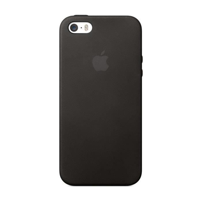 Coque APPLE pour iPhone 5 / 5S / SE , Cuir de premièr