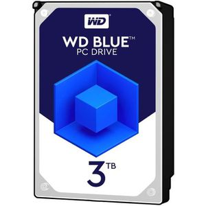 """DISQUE DUR INTERNE WD Blue 3To 64Mo 3.5"""""""