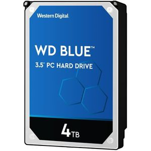 """DISQUE DUR INTERNE WD Blue 4To 64Mo 3.5"""""""