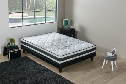 matelas 160x200 achat vente matelas 160x200 pas cher soldes d s le 27 juin cdiscount. Black Bedroom Furniture Sets. Home Design Ideas