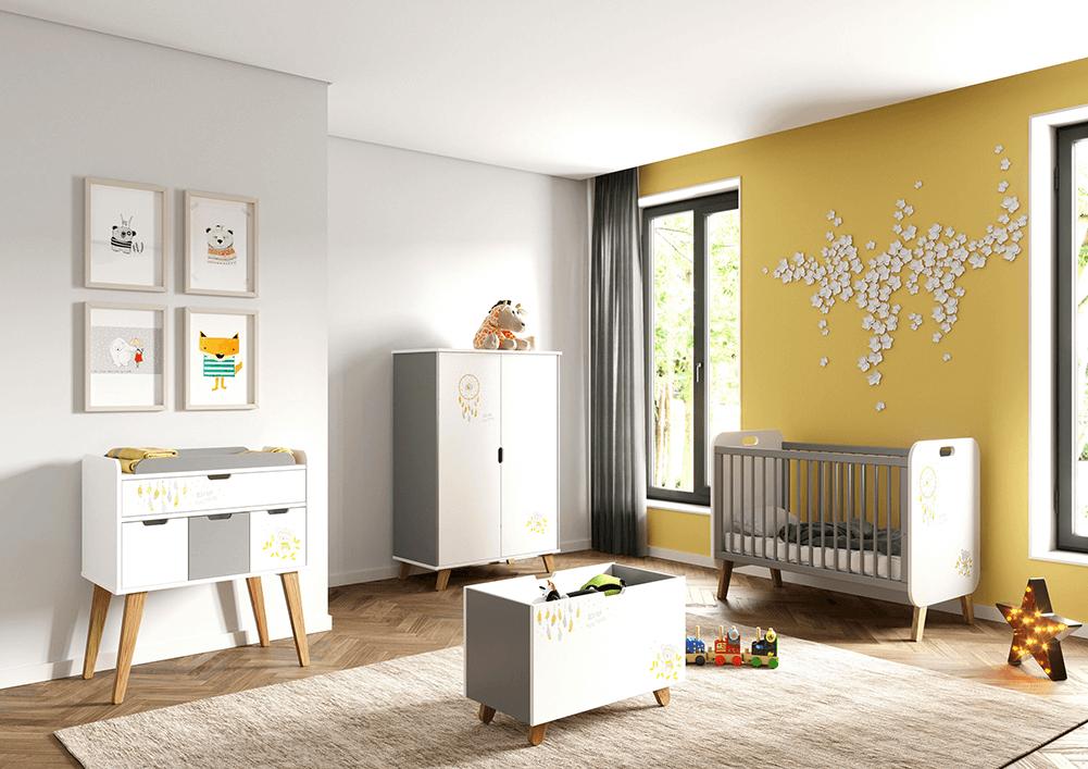 chambre bebe coloree
