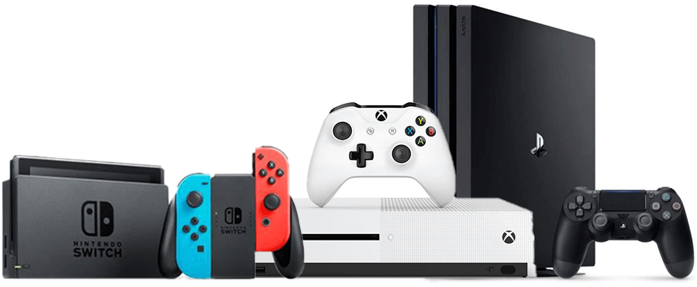 Consoles jeux Xbox One PS4 Nintendo Switch