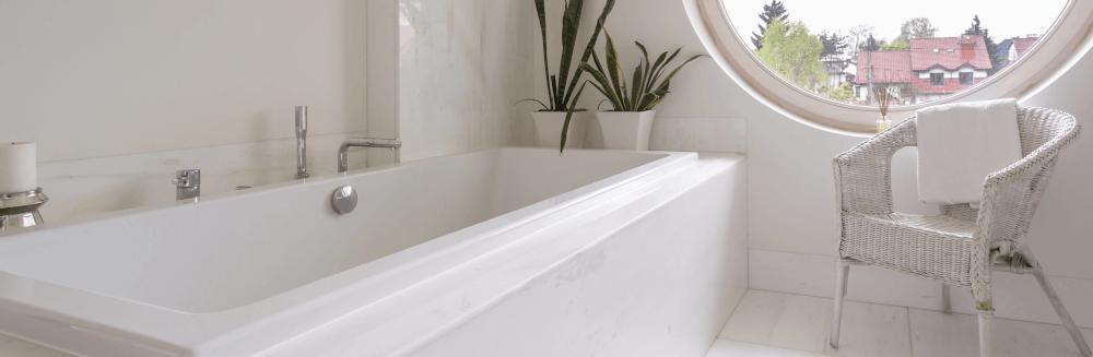 baignoire droite