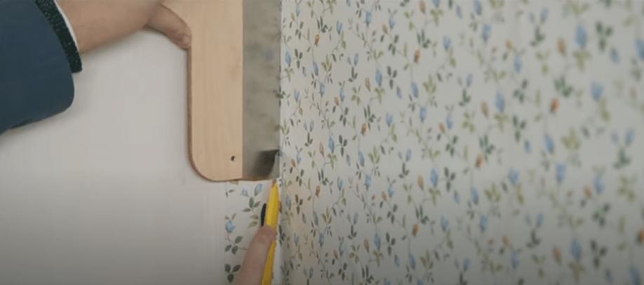Comment Poser Du Papier Peint Dans Un Angle Cdiscount