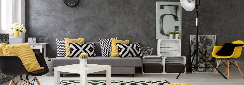 comment d corer ses murs avec des couleurs fonc es cdiscount. Black Bedroom Furniture Sets. Home Design Ideas